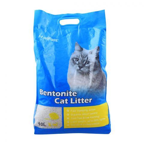MaoFaaz Bentonite Cat Litter, Lemon, 10 Litres