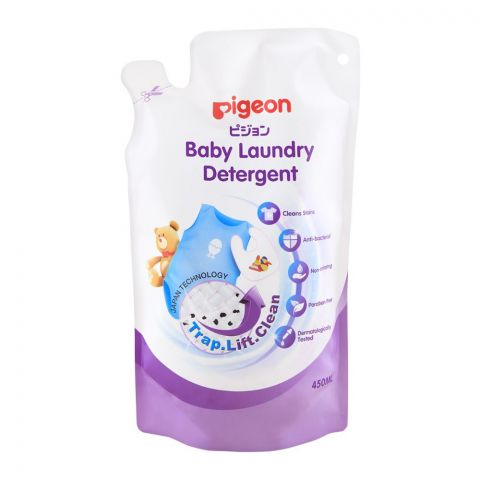 Pigeon Baby Laundry Detergent Pouch, 450ml, M78017