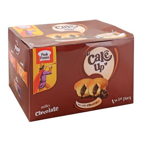 Peek Freans Cake Up Milky Chocolate Twin Cup Cakes, 6 Twin Cup Cakes