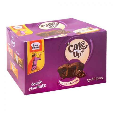 Peek Freans Cake Up Double Chocolate Twin Cup Cakes, 6 Twin Cup Cakes