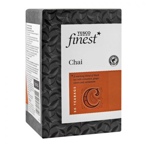 Tesco Finest Chai Tea Bag, 50-Pack