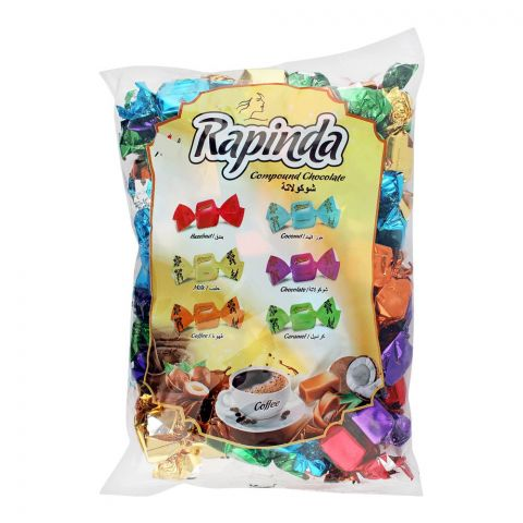 Rapinda Assorted Compound Chocolate Candy, 1 KG Bag