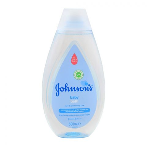 Johnson's Pure & Gentle Daily Care Baby Bath, Paraben & Sulfate Free, 500ml