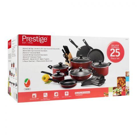 Prestige Non Stick Cooking Set, 25 Pieces, 20499