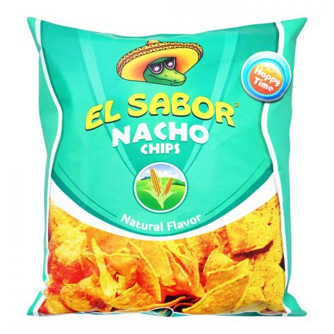 EL Sabor Nacho Chips, Natural Flavor, 100g
