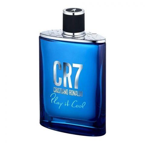 Cristiano Ronaldo CR7 Play It Cool Eau De Toilette,Fragrance For Men, 100ml