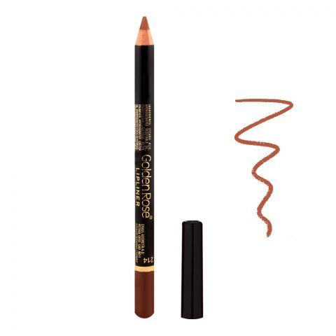 Golden Rose Lip Liner Pencil, 214
