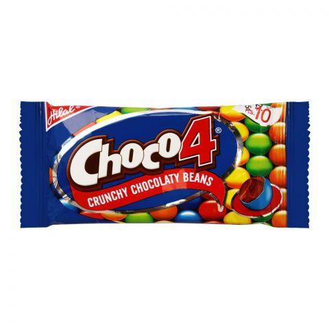 Hilal Choco4 Crunchy Chocolate Beans, 13g
