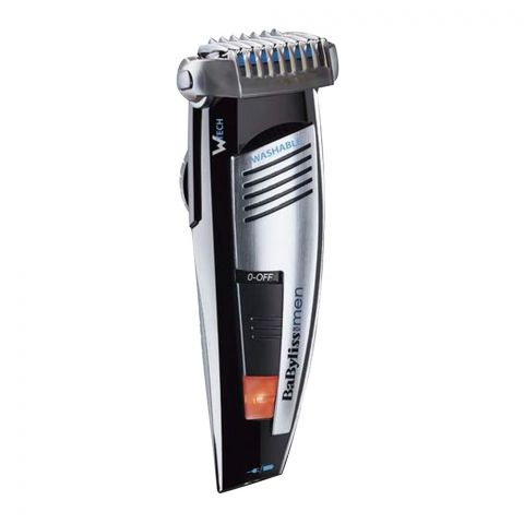 Babyliss For Men Beard Rechargeable & Washable Trimmer, E846SDE