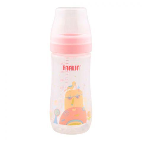 Farlin Silky PP Wide Neck Feeding Bottle, 3m+, 270ml/0oz, Pink, AB-42016-G