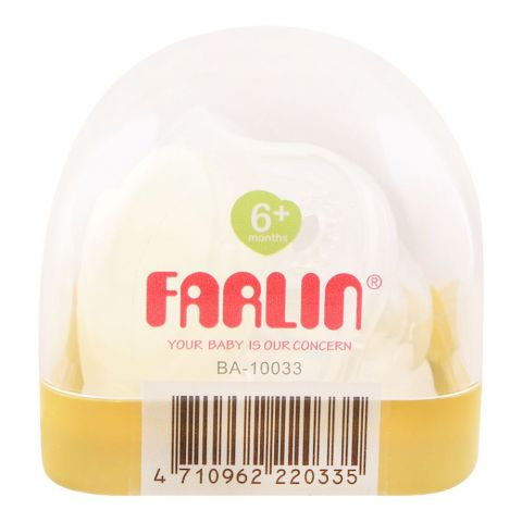 Farlin Glow-In-The-Dark Pacifier, 6m+, BA-10033