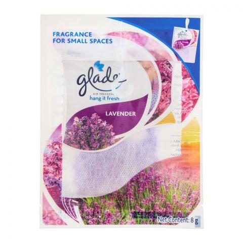 Glade Hang It Fresh Air Freshener Lavender, 8g