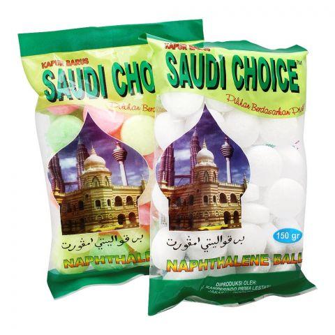 Saudi Choice Naphthalene Balls, White, 150g