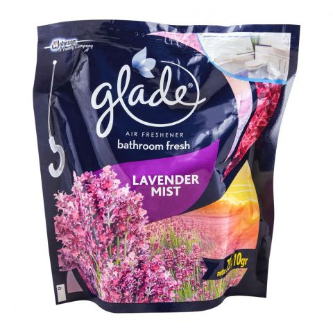 Glade Bathroom Air Freshener, Lavender Mist, 85g