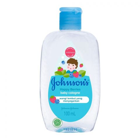 Johnson's Happy Berries Baby Colonge, 100ml
