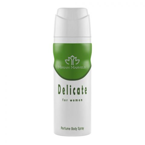 Miriam Marvels Delicate For Women Deodorant Body Spray, 200ml
