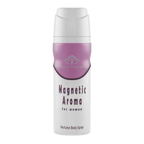 Miriam Marvels Magnetic Aroma For Women Deodorant Body Spray, 200ml