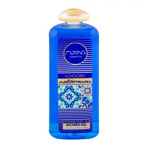 Moira Cosmetics Choose Mediterranean Perfume Shower Gel, 400ml