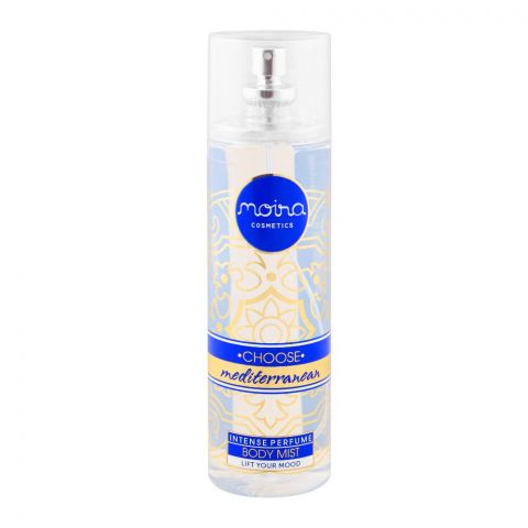 Moira Cosmetics Choose Mediterranean Intense Perfume Body Mist, 215ml