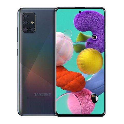 Samsung Galaxy A51 6GB/128GB Prism Crush Black Smartphone, SM-A515
