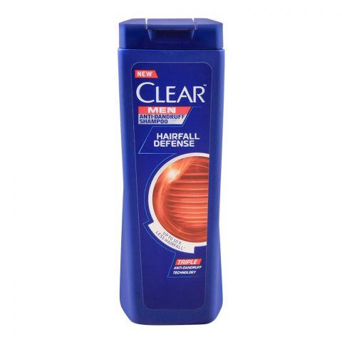 Clear Men Hair Fall Defense Anti-Dandruff Shampoo, 185ml