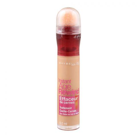 Maybelline New York Instant Age Rewind Eraser Dark Circles Treatment Concealer, 140 Honey