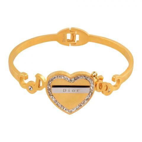 Dior Style Girls Bracelet, Golden, NS-0164