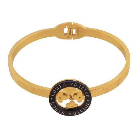 LV Style Girls Bracelet, Golden, NS-0165