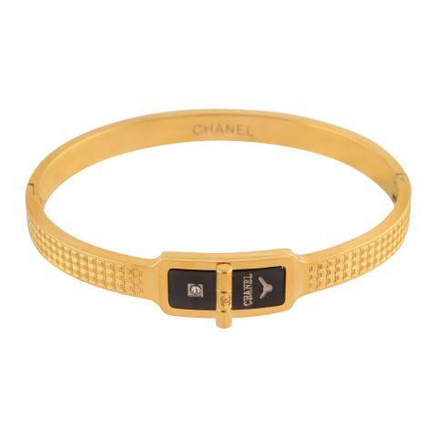 Channel Style Girls Bracelet, Golden, NS-0167