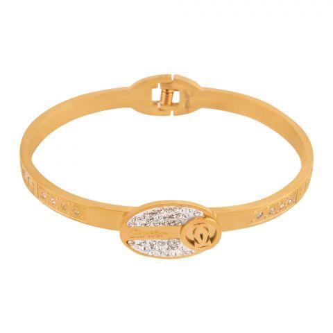 Cartier Style Girls Bracelet, Golden, NS-0170