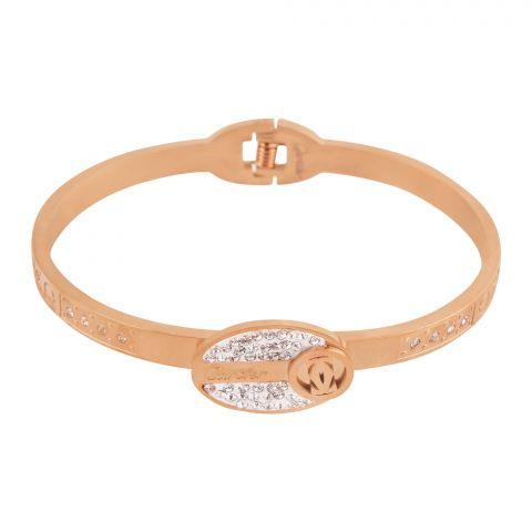 Cartier Style Girls Bracelet, Rose Gold, NS-0170