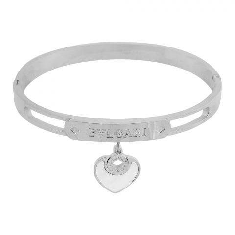 Bvlgari Girls Bracelet, Silver, NS-0176