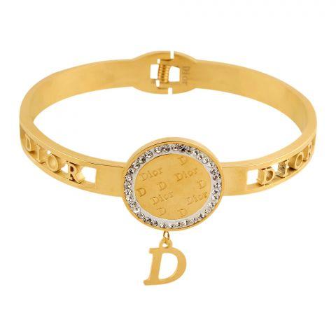 Dior Style Girls Bracelet, Golden, NS-0182