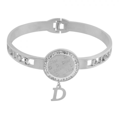 Dior Style Girls Bracelet, Silver, NS-0182