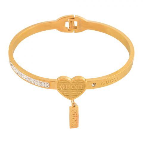 Gucci Style Girls Bracelet, Golden, NS-0185