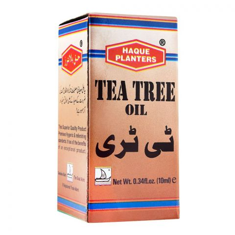 Haque Planters Tea Tree Oil, 10ml