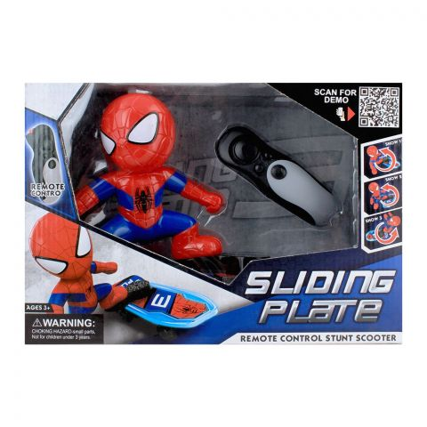 Live Long Spiderman On Skateboard, Remote Control, 2166-5-D