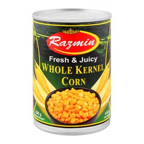 Razmin Whole Kernel Corn, 410g