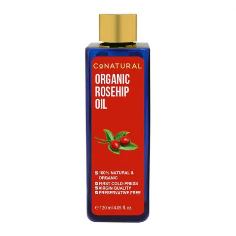 CoNatural Organic Rosehip Oil, 120ml