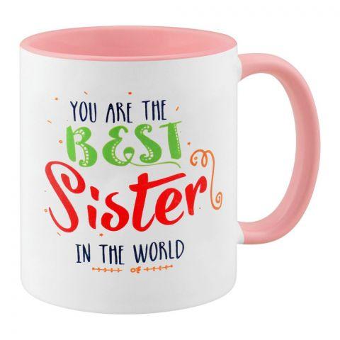 Best Sister In The World Gift Mug
