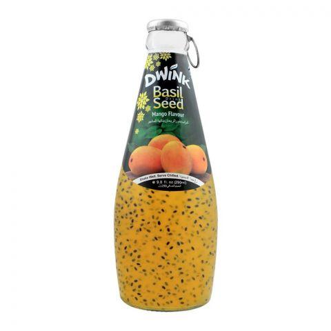Dwink Basil Seed Drink Mango Flavor, 290ml