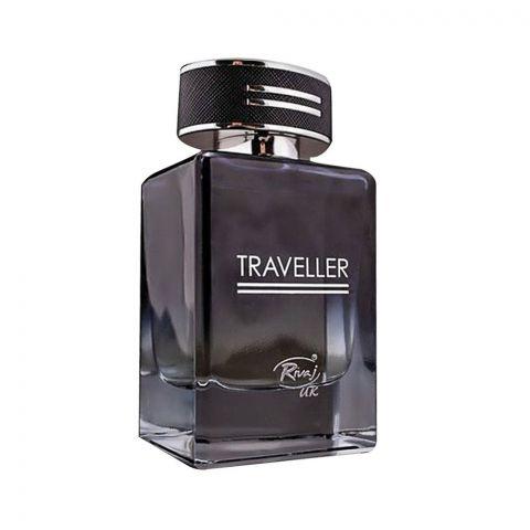 Rivaj UK Traveller Eau De Parfum, Fragrance For Men, 100ml