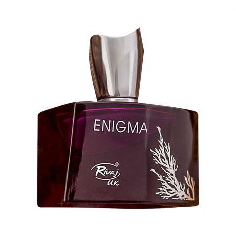 Rivaj UK Enigma Eau De Parfum, Fragrance For Women, 100ml