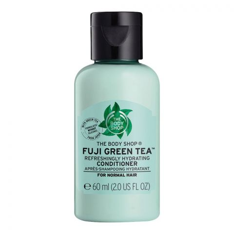 The Body Shop Fuji Green Tea Refreshingly Hydrating Conditioner, For Nomal Hair, 60ml
