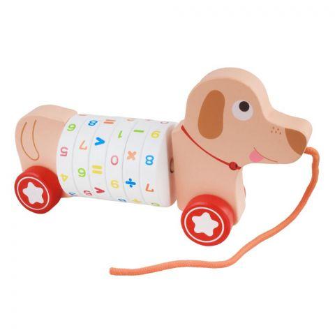 Live Long Wooden Digital Dog Trailer, 2305-17-D