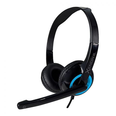 SonicEar Xenon 2 Headphones Headset Black/Turquila