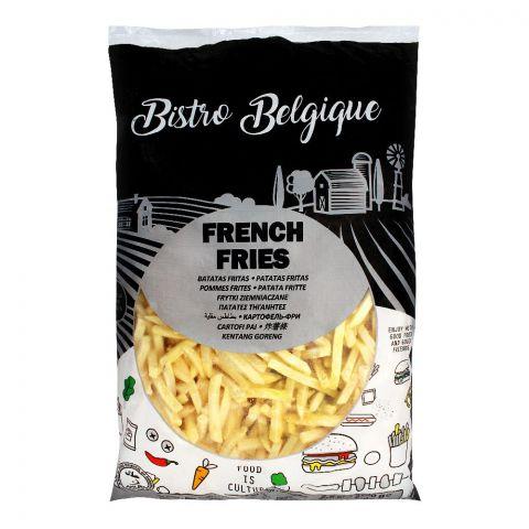 Bistro Belgique French Fries, 7x7mm, 2.5 KG
