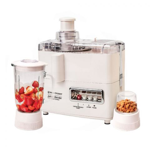 West Point Deluxe Juicer, Blender And Drymill, 750W, WF-1873