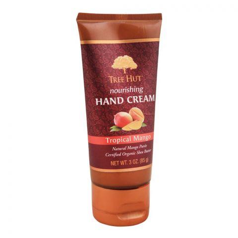 Tree Hut Tropical Mango Nourishing Hand Cream, 85g