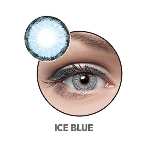 Optiano Soft Color Contact Lenses, Ice Blue